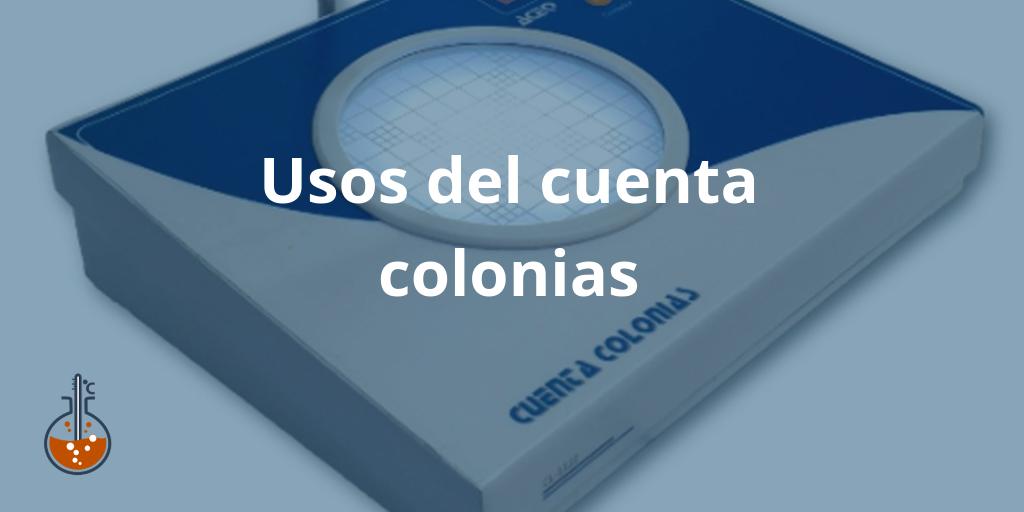 Usos del cuenta colonias