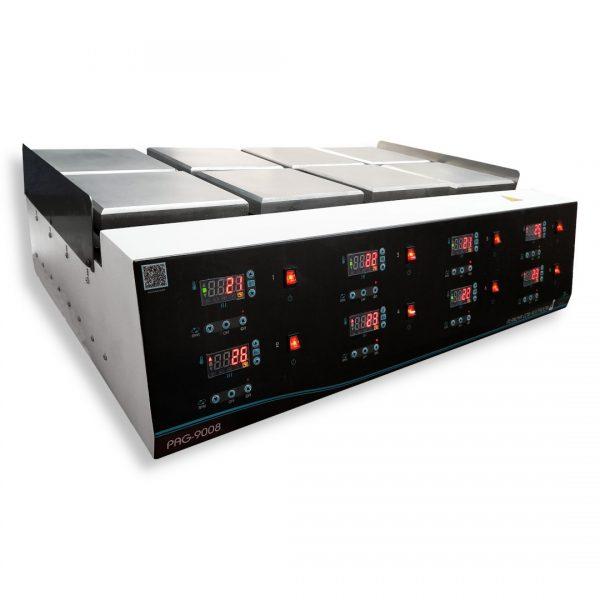 Agitador con calentamiento PAG-9008