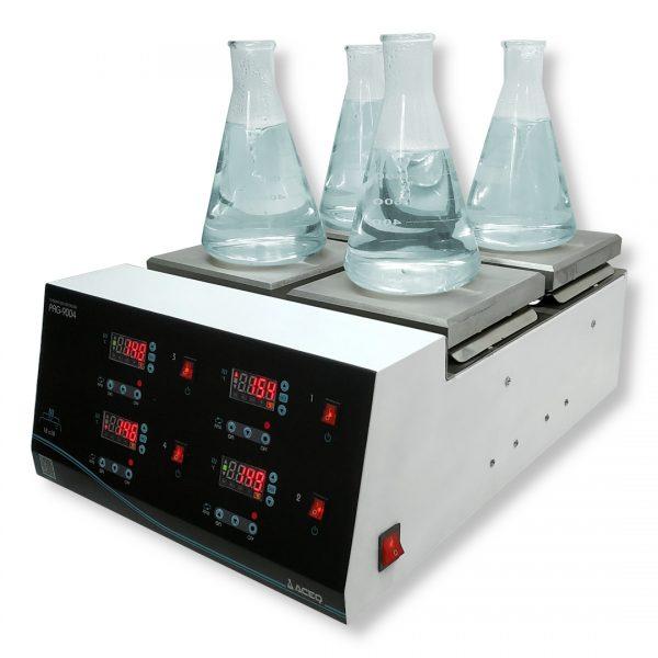 Agitador con calentamiento PAG-9004