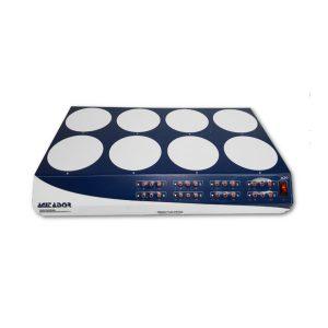 Agitador magnético Multiposición AG-5008 de 8 puestos