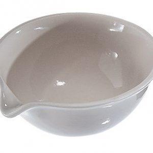 capsula de evaporación en porcelana